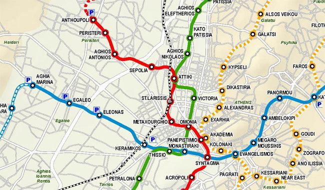 Metromap Athens I